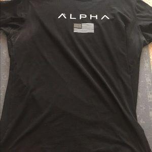 Alpha clothing co alpha flag tee
